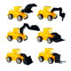 Classic Children Truck Toys plastic engineering truck van plastic truck model kits for promotion gifts