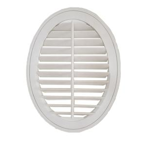 Custom Window Treatment Windows Oval Plantation Shutters