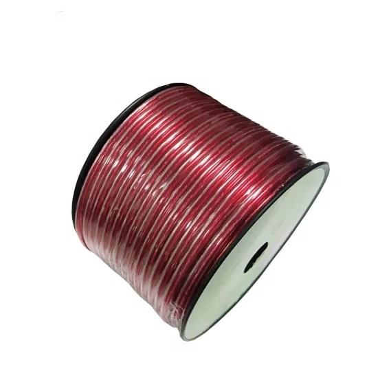 CCA [ Speaker Awg Cable ] Speaker Awg Cable 100FT CCA Speaker Wire 12 AWG Loud Speaker Cable For Car Audio