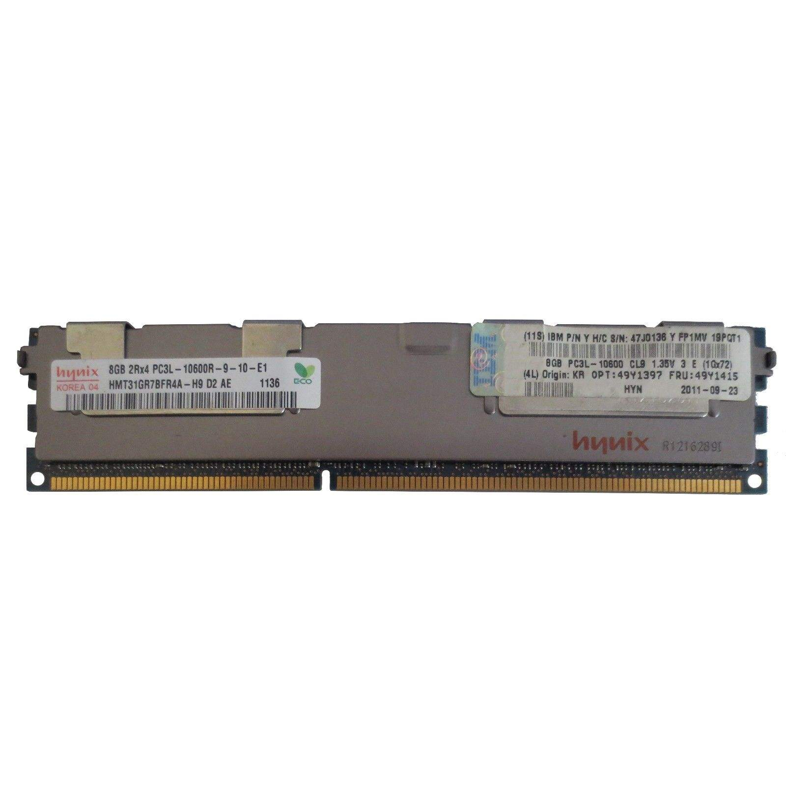 For Hynix 32GB 16GB 8GB 4GB Kit DDR3 1333MHz PC3-10600R Reg-DIMM ECC Server Memory RAM