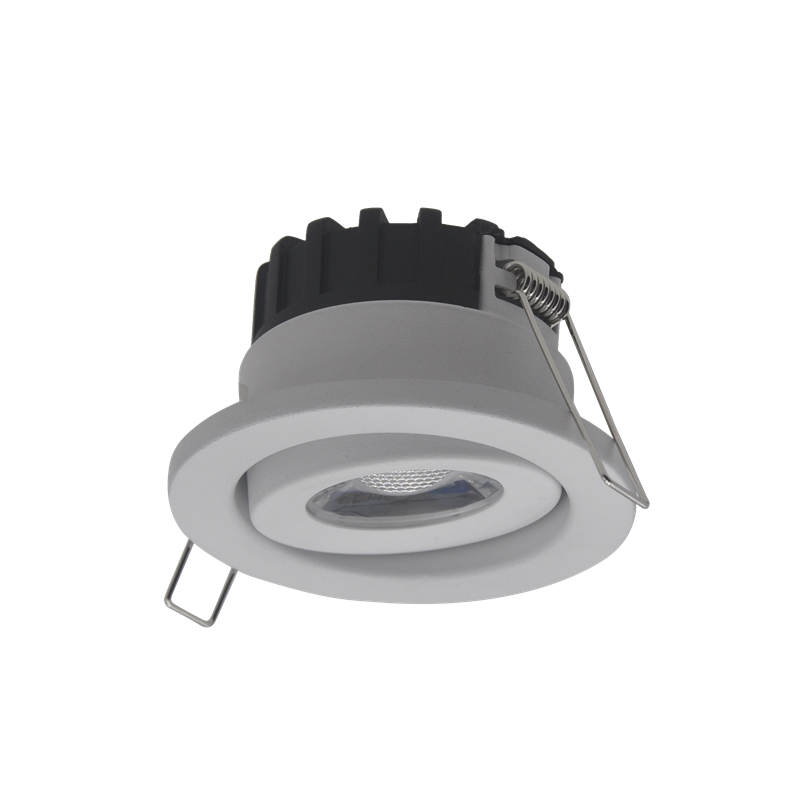 סופרמרקט 6w תאורת COB עגול Dimmable שקוע downlight LED Downlight