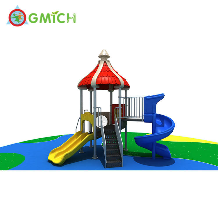 New style children playhouse single small playground colorful play area JMQ-003241