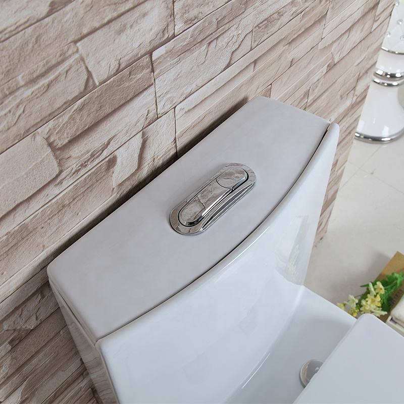 Modern Comfortable Ceramics One Piece Bathroom Toilet Siphonic Flush Water Conservation For Sanitary Ware
