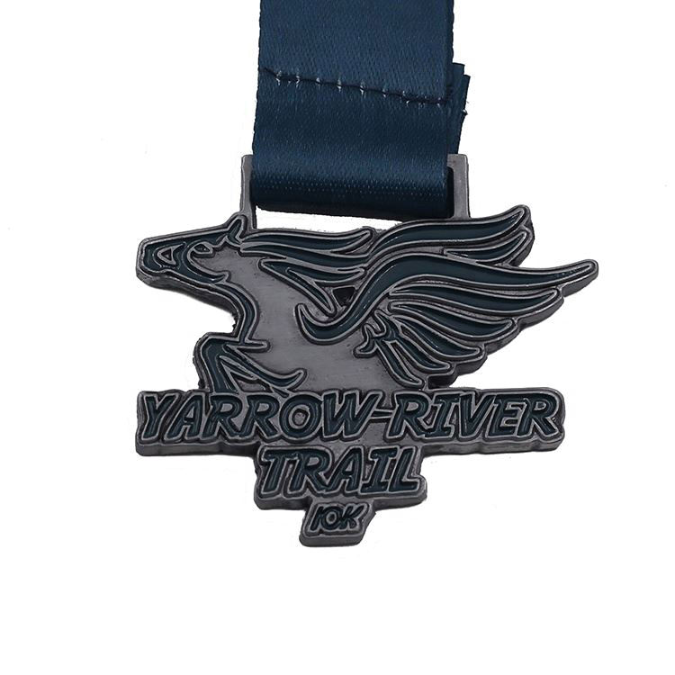 Custom miniature finisher 10k marathon race medals