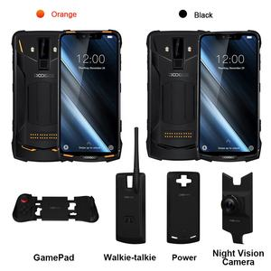 IP68 DOOGEE S90 Modular Rugged Mobile Phone 6.18inch Display 12V2A 5050mAh Helio P70 Octa Core 6GB 128GB 16MP+8MP Android 9