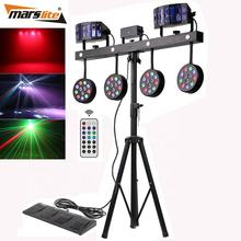 Guangzhou Marslite LED Combination effect party par light foot controller stage lighting