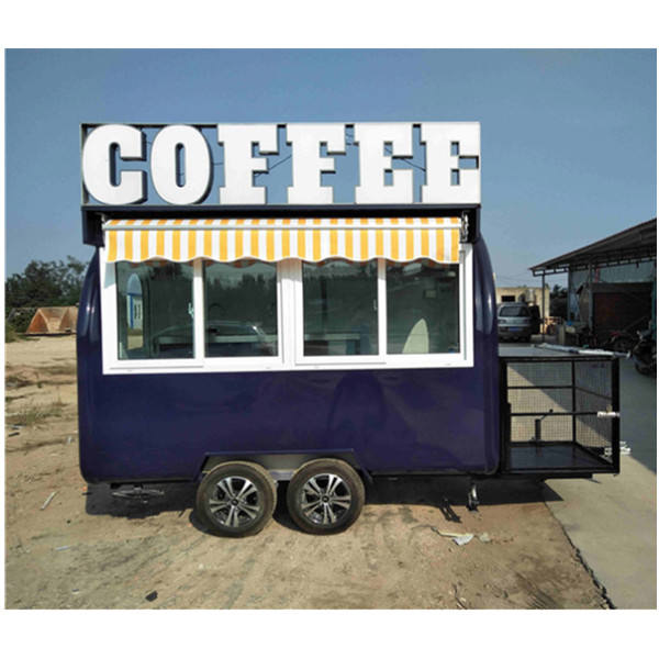 Hot Sale Hand Push Buffet Car Trailer for Sale/ Chinese Manufacture Food Cart for Buffet/ Street Mobile Beffet Car