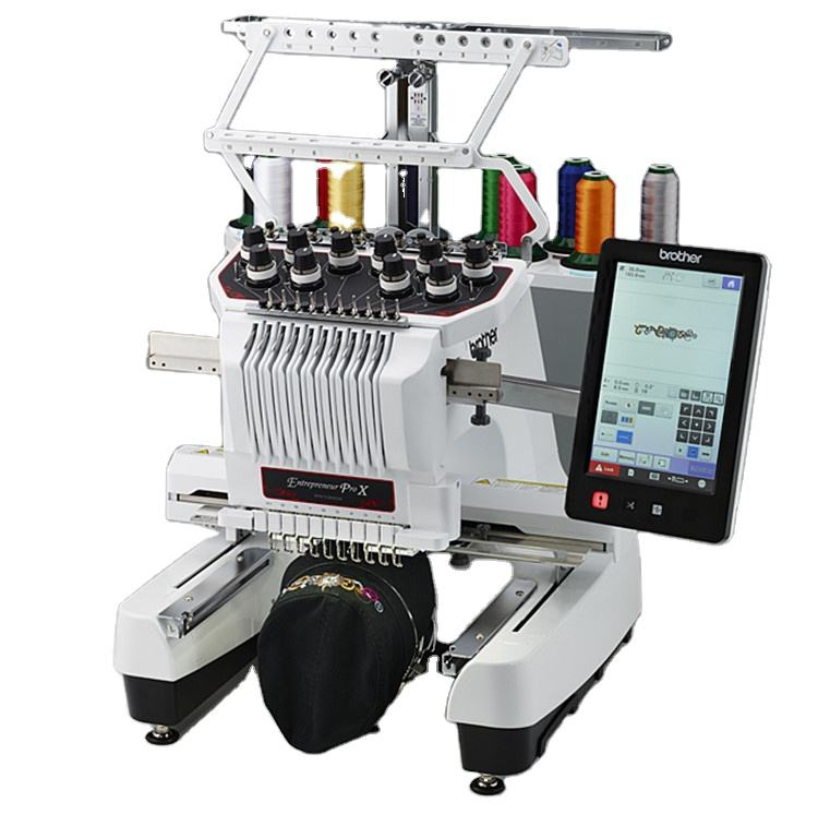 New design 5 head sewing 3d embroidery machine