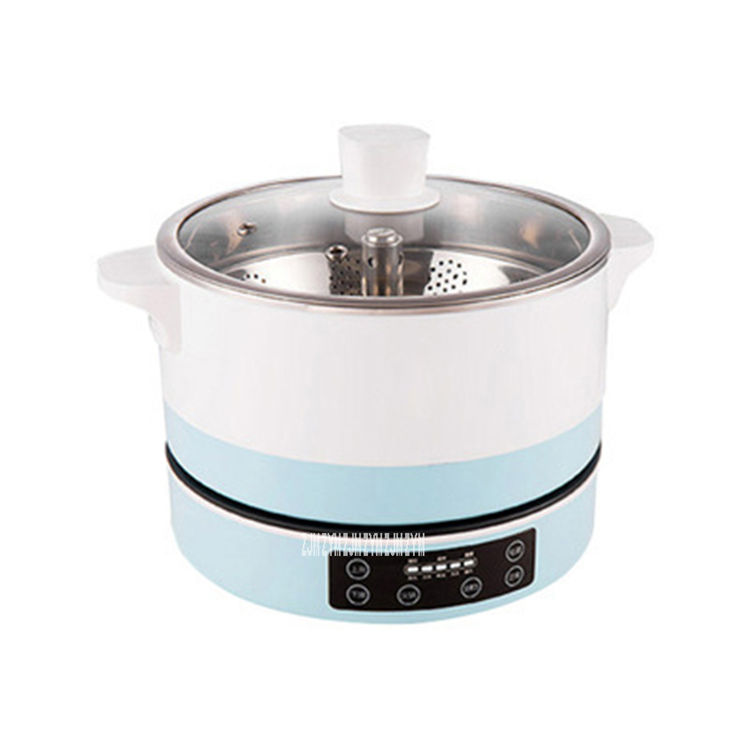 CG-HFF26-01 Intelligent 5 Gears Electric Food Steamer Split Steamer Hot Pot Cooker Automatic Lifting Electric Saucepan (G2901)