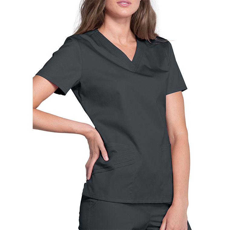 factory grey fashion medical nurse clothing scrub set Operating Room Hospital uniform