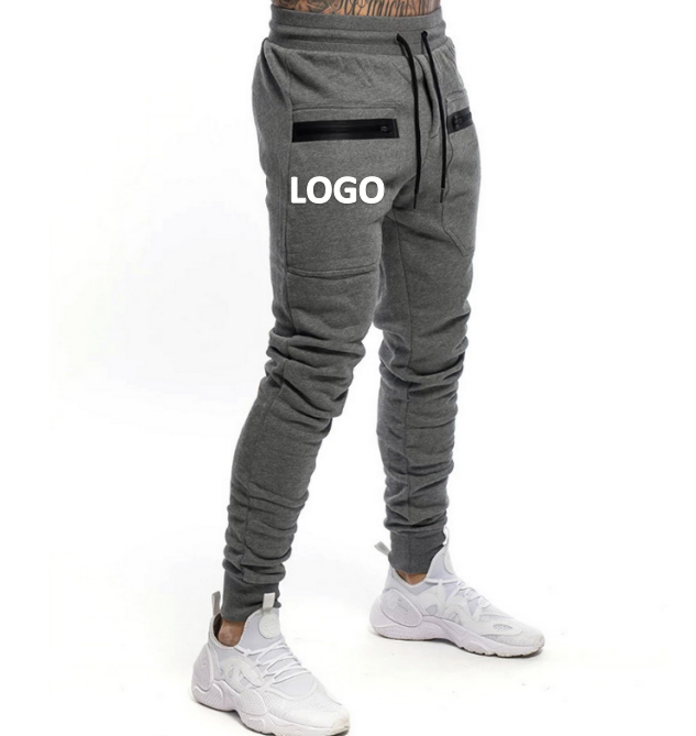 Fashion Best Selling 2020 New Autumn Winter Casual Sports Fitness Drawstring Pants Men Training Trousers