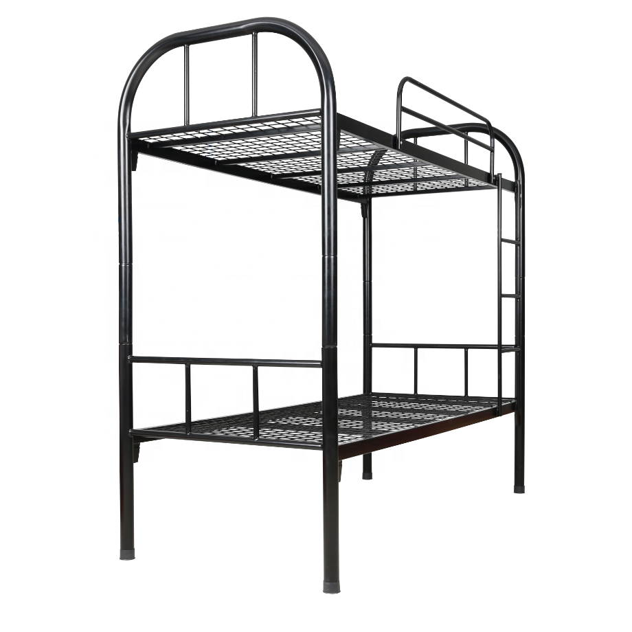Double Decor Metal Tube Bunk Bed Detach to 2 Single Beds