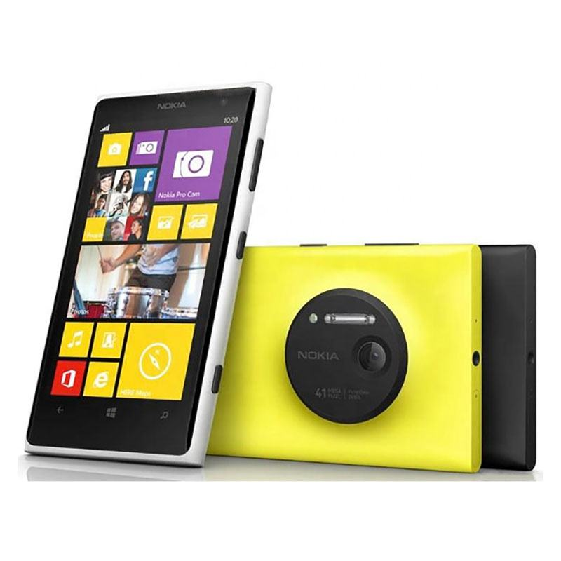 "For Nokia Lumia 1020 Dual Core 4.5"" 41MP 32GB ROM 2GB RAM Window 8 OS 3G 4G Mobile Phone"