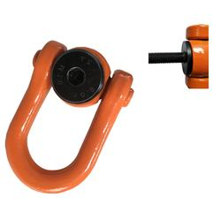 YDS lifting point central pull swivel eyebolt