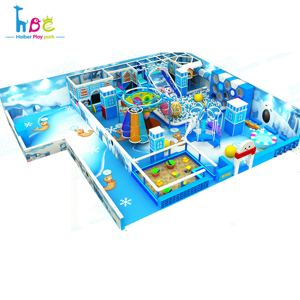 Kindergarten The Name Playground Equipment Ice theme playground