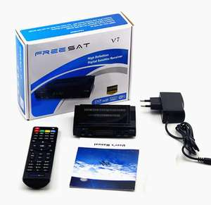 GTMedia V7S HD DVB-S2 Digital Satellite TV Box Decoder for Encrypted Channel Decoder with Cccam Free to Air v7s