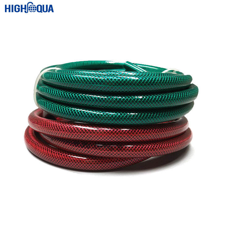 China Manufacture pvc High Pressure Spray Hose Price List of Farm Irrigation pvc Water Garden Hose Pipes For Watering