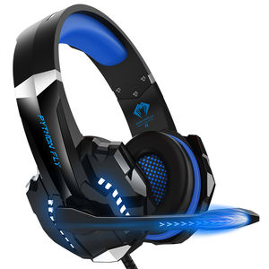 Beste Computer Surround Sound Kopfhörer RGB Audifonos Gamer PS4 LED Noise Reduction Headset Gaming Headset 7,1 Mit Mic Für PC