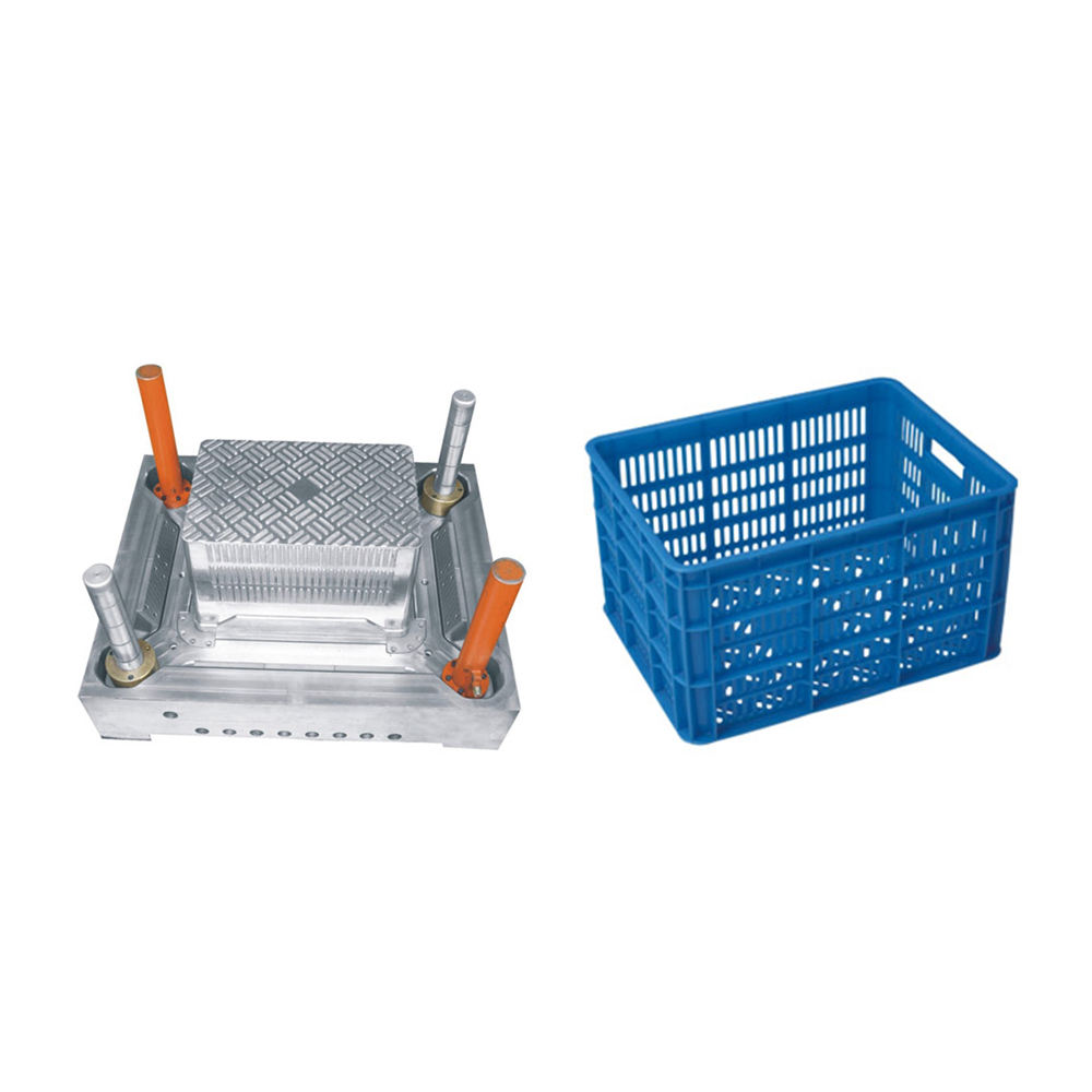 China CNC automatic plastic agricultural crates moulding for sale