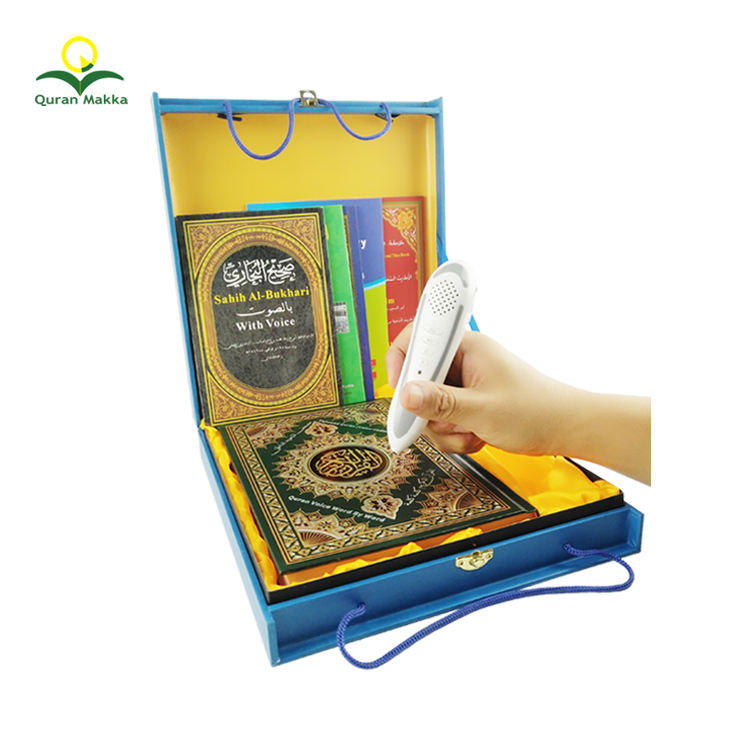 Best Price Free MP3 Translation and Reciter Download Digital Holy Al Quran Book Read Reader Reading Talking Pen for Kids Muslim