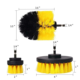 Drill bit wheel cleaning brush carbon brush for drill