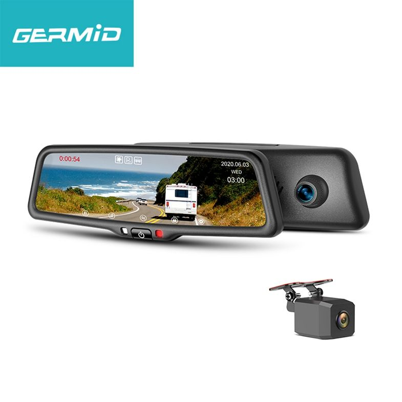 Manufactory Car Mirror Recorder Maximize Support 128Gb Sd Card Car Black Box Cameras