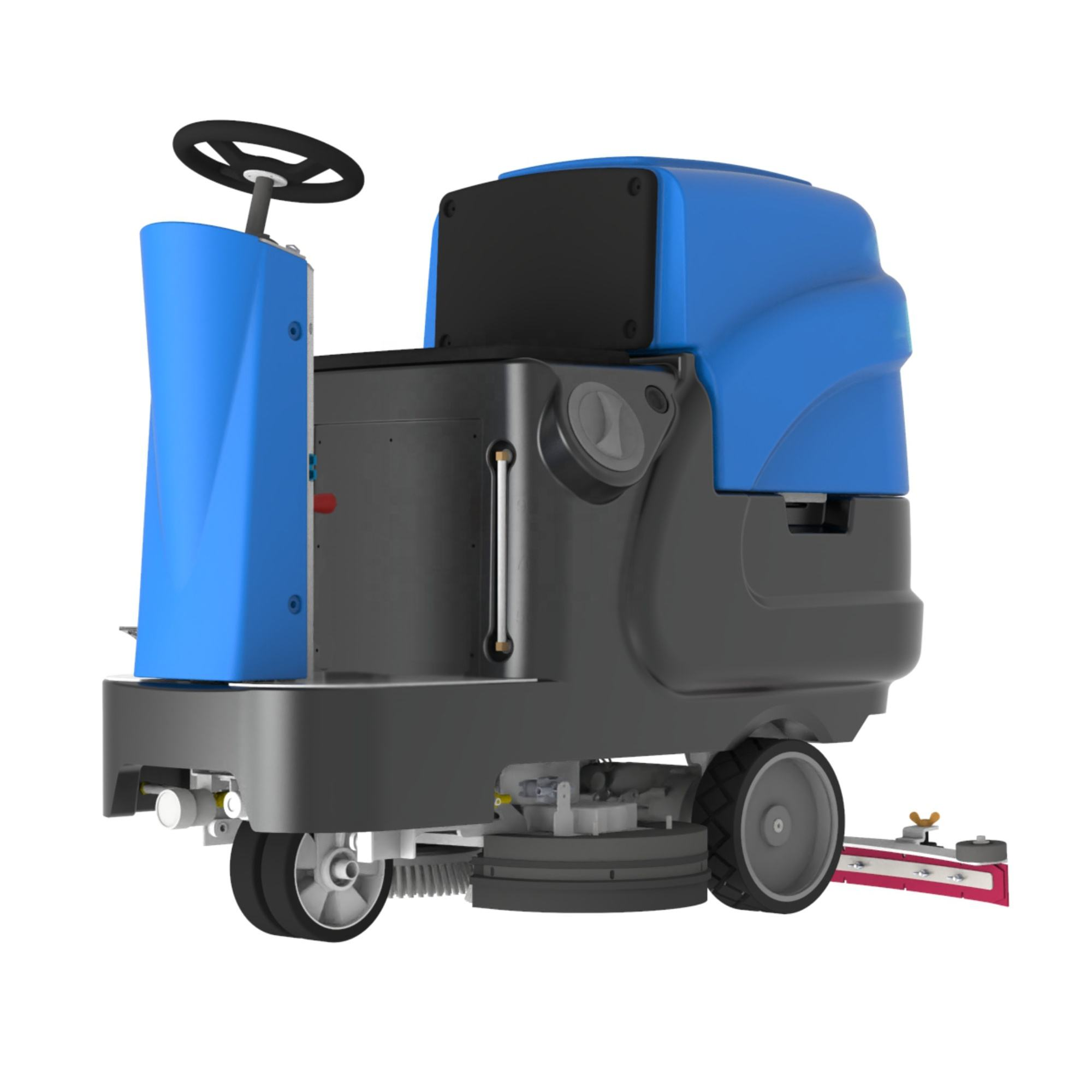 RD660 Automatic Warehouse Ride On Kenya Floor Scrubber