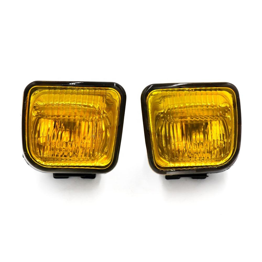 China high quality factory yellow fog light square fog lamp front bar light for Honda Civic