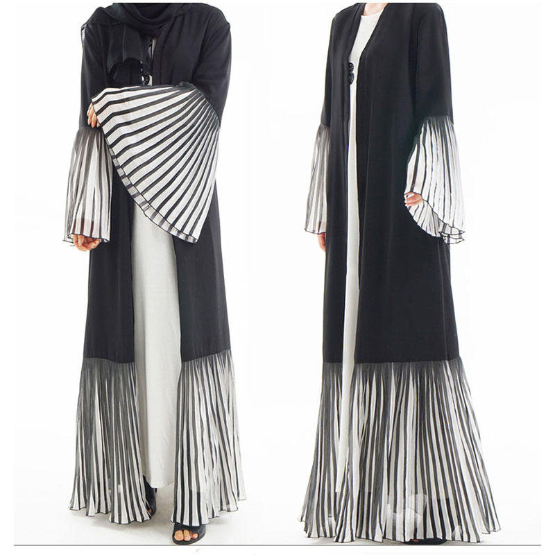 2019 Latest Designs Islamic Muslim Dresses Chic Dubai Abaya