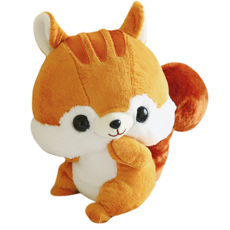Factoryplushies stuffed animal custom stuffed plush toycute stuff soft toys plush squirrel toy wholesale