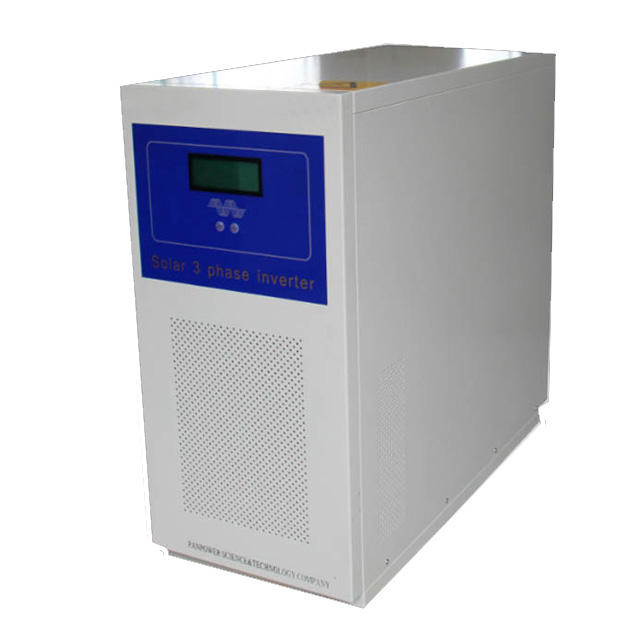 Off grid hybrid dc to ac solar power inverter 3 phase 5kw 7kw 10kw 12kw 15kw 20kw 380v with mppt controller
