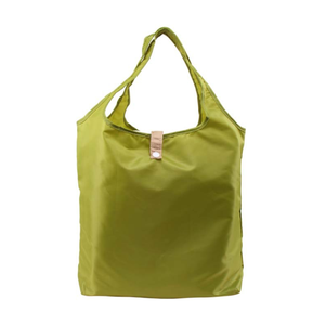 Nylon fair trade luxury tote bag shoulder folding bag eco-friendly