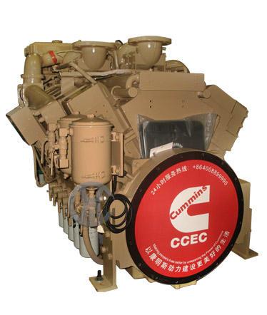 For Cummins NTA855-M350 Marine engine for fishing boat Engine model