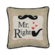 China supplier party decor square pillow best valentine gift for couple