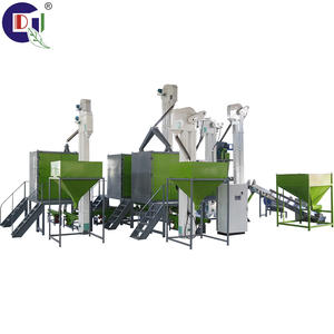 QD-4000 plastics sorting and recycling machine pp abs pe sorting electrostatic separator all kinds of plastics separating line