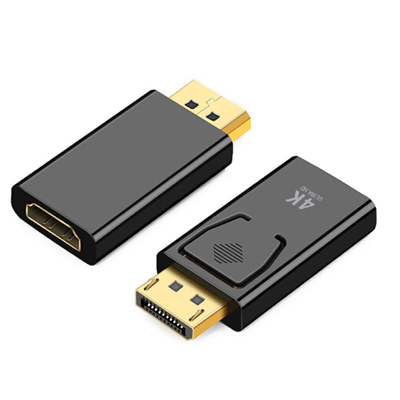 Ultra HD 4K 30Hz UHD DisplayPort DP Display Port para <span class=keywords><strong>HDMI</strong></span> Macho para Fêmea <span class=keywords><strong>Adaptador</strong></span> Conversor com Áudio benfei para Lenovo Dell HP
