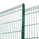 Steel [ Welded Wire Mesh Fence Panel ] Factory Price Galvanized 3D Welded Wire Mesh Fence Panel For Garden