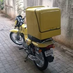 MILK BIKE DELIVERY BOX FOR CARRYING MILK AND DAIRY PRODUCTS