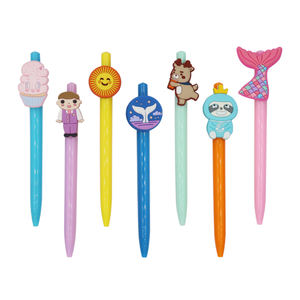 hot selling cute stationery pens kawaii doctor pen multicolor ballpoint pen