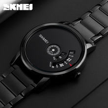 Skmei 1260 japan mov't quartz watch 3 atm water resist fashion watch stainless steel back watch Wholesale joker brand men watch