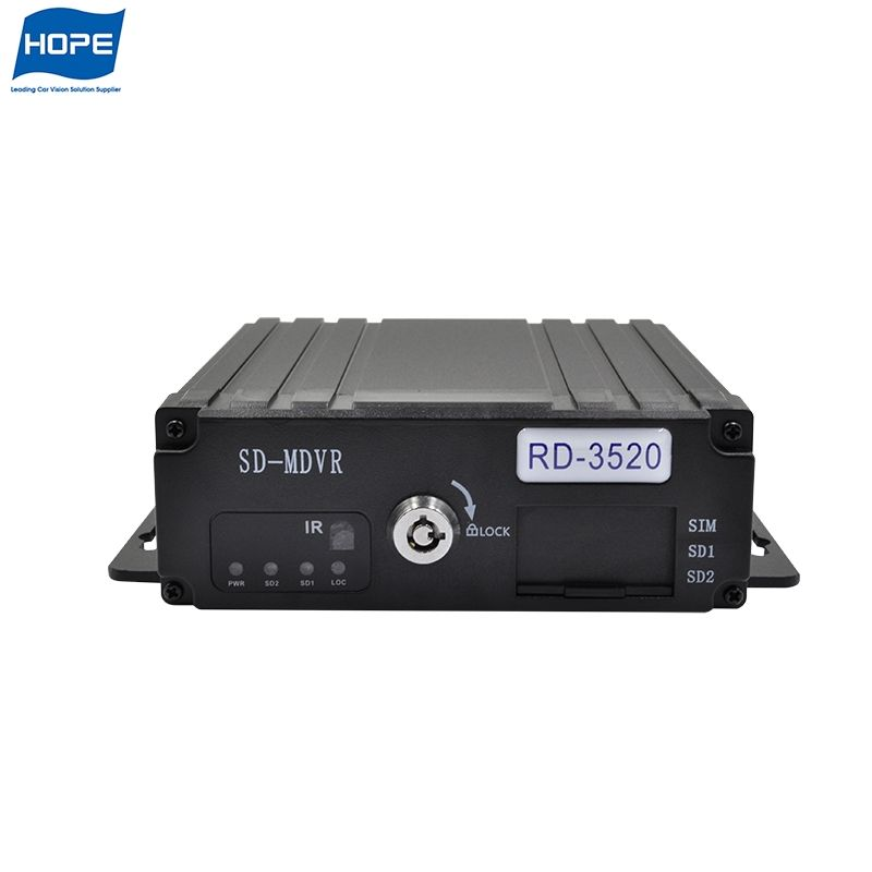 Mobile 1Ch Mini Hd Dvr For Home Cctv System 3G Gps 1080P Wifi Mdvr