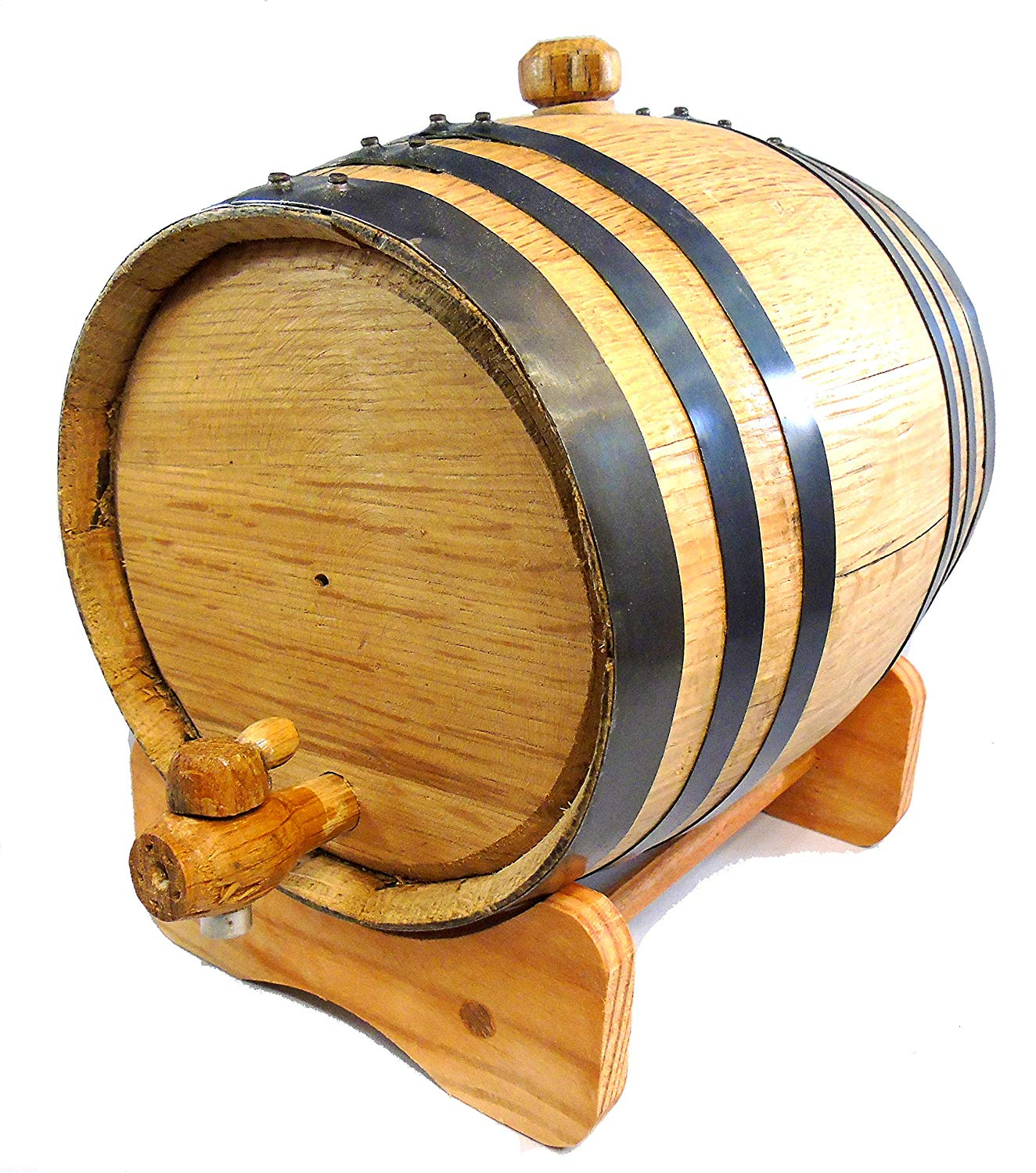 50 L oak malaysia barrel,wooden storage barrel,wine barrel with lid ibei