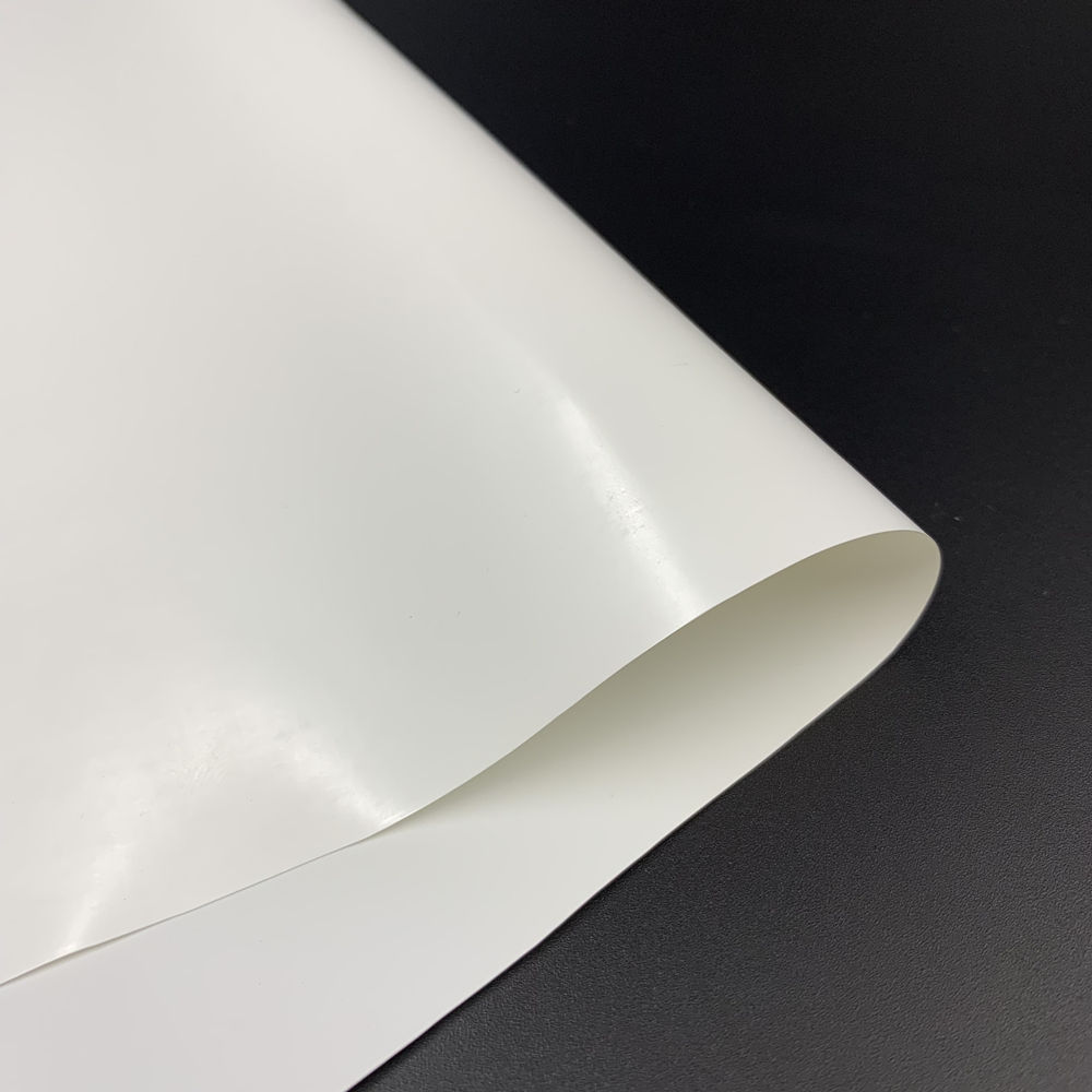 Flexible White Polyester TPU Film For Sport Balls