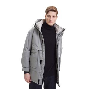 Wholesale canada style parka men's goose down jacket thick lovers' outdoor winter coat