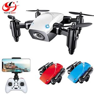 Original Mini drone Camera S9 S9HW Foldable Pocket Quadcopter with 480P Cam WIFI App Control