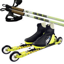 Best sale carbon fiber rollerski skate and classic roller ski