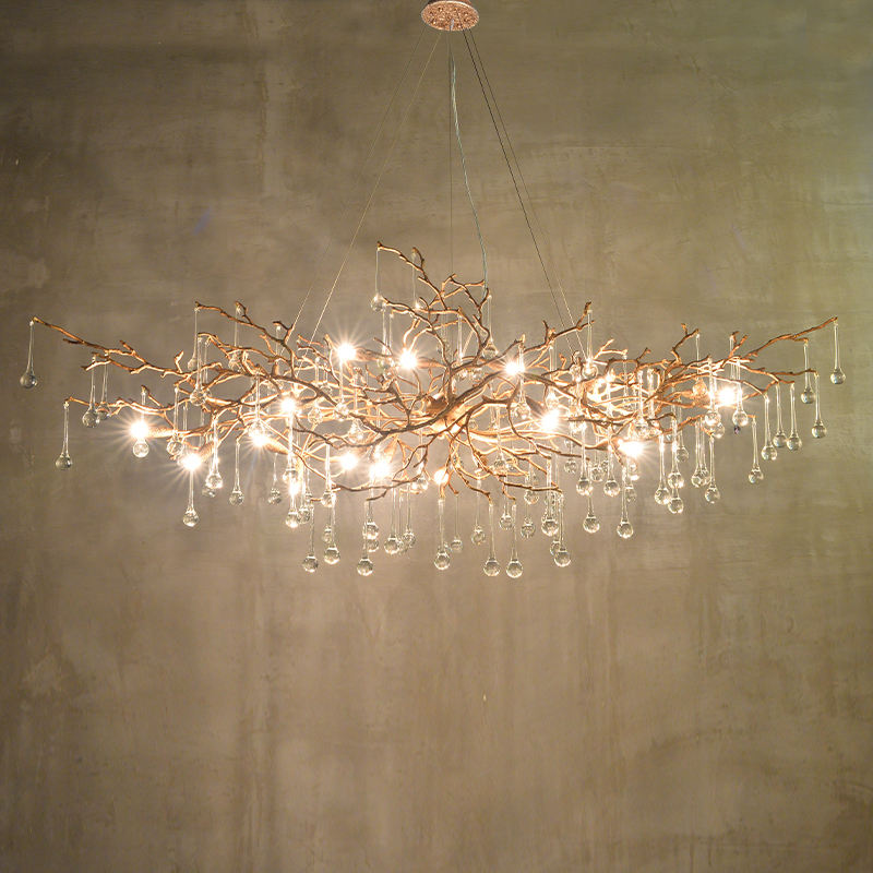 Hot selling modern design luxury lights high end ceiling crystal lamp chandeliers lighting