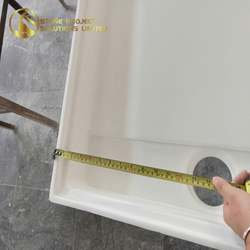 Reliable Vendor Roll In Ada Cultured Marble Shower Pan For Residence Decoration