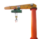Logo Customization [ Dgcrane Ton 5 Jib Crane ] DGCRANE 360 Degree Rotation 3 Ton 5 Ton Column Mounted Jib Crane For Sale