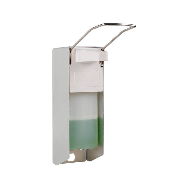 Wall Mounted Elbow Push Soap Dispenser